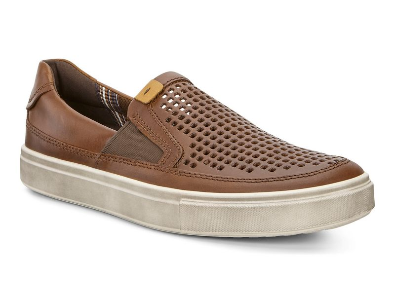 ecco kyle slip on damskie